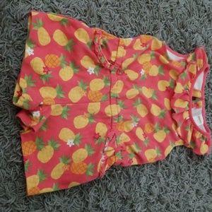 Gymboree Pineapple Romper